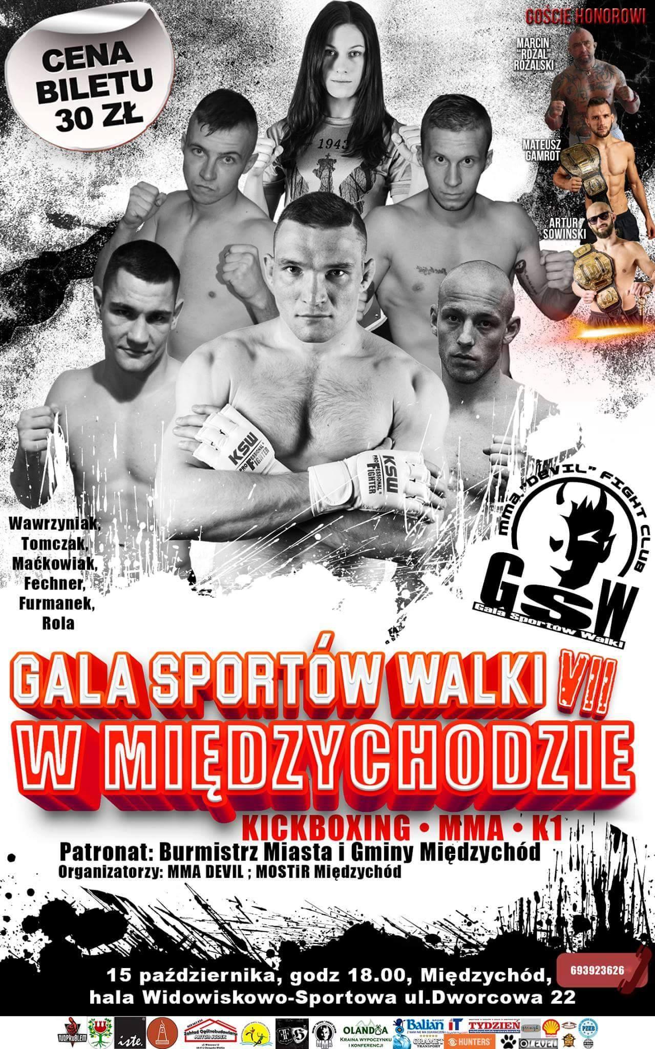 7 Gala Sportów Walki w Międzychodzie
