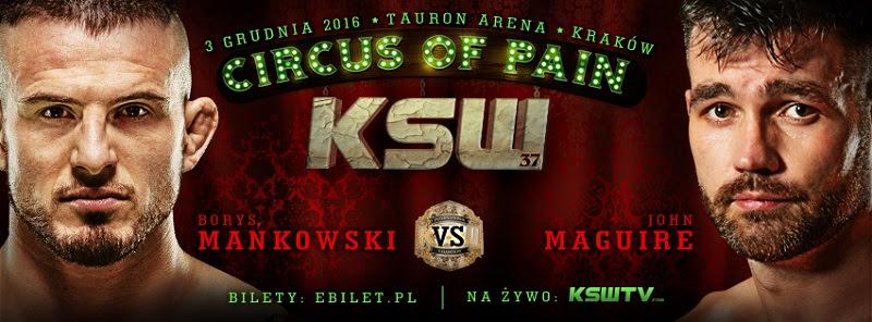 Borys Mańkowski vs John Maguire