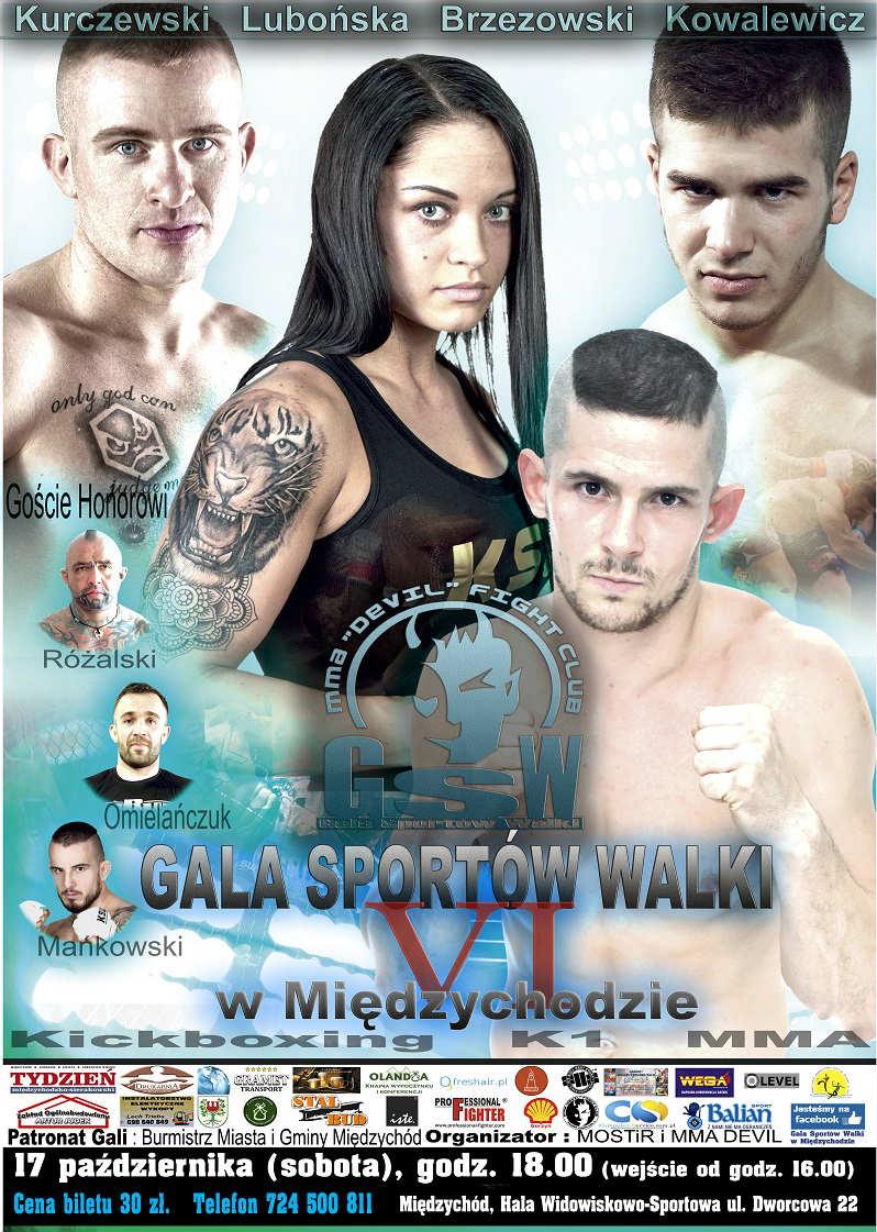 Gala Sportów Walki w Międzychodzie 6