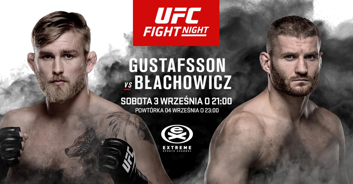 Gustafsson vs Błachowicz