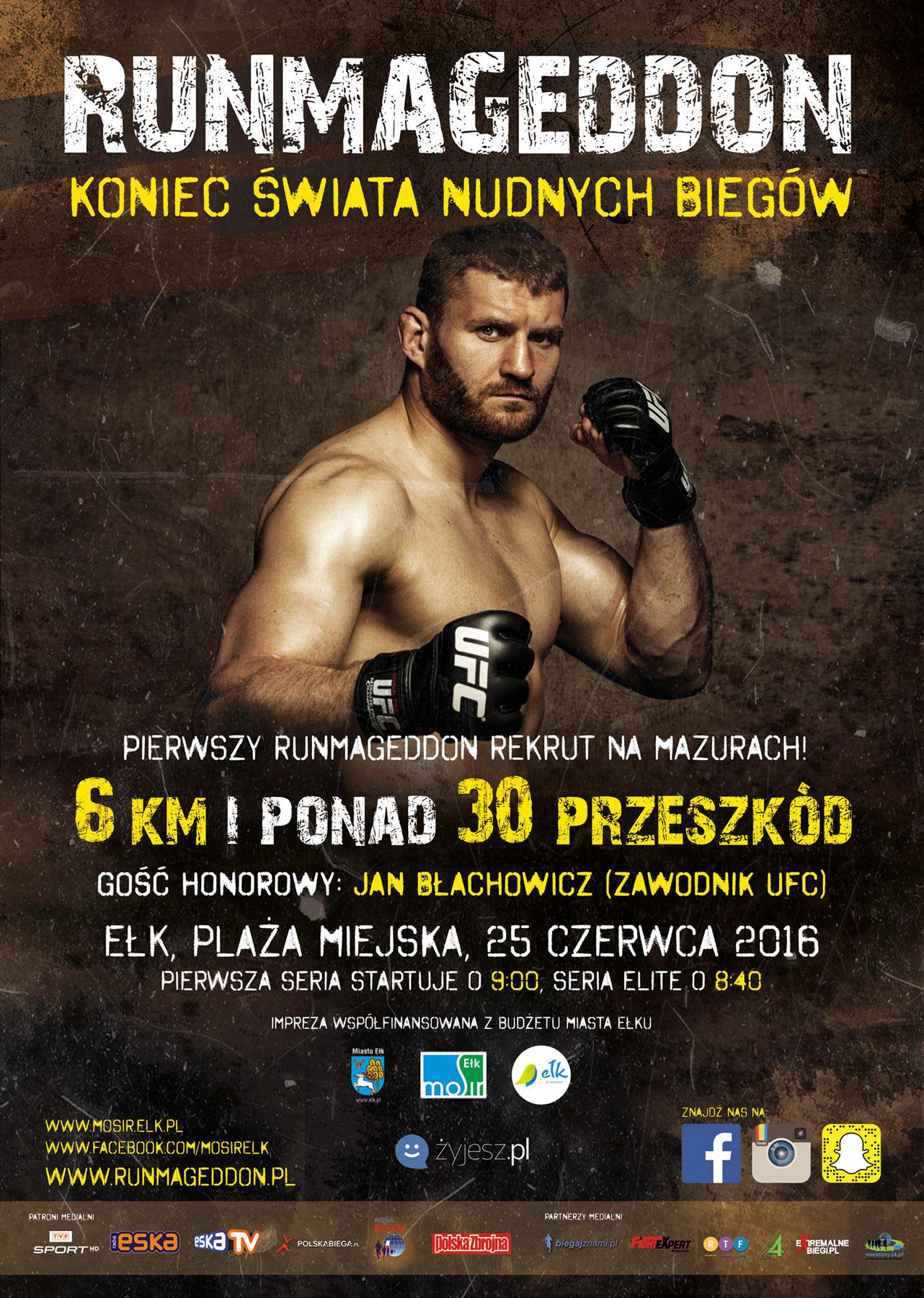 Jan Błachowicz Runmageddon