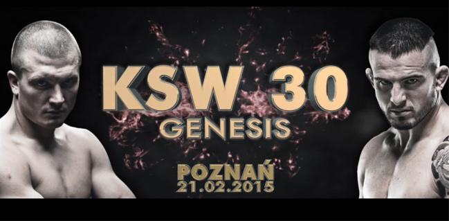 KSW 30 Genesis - Mańkowski vs Tsarev