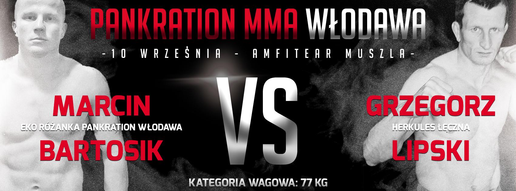 Pankration MMA Włodawa Bartosik vs Lipski